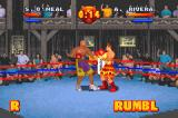 Ready 2 Rumble Boxing: Round 2 Game Boy Advance Shaquille O'Neal in action.