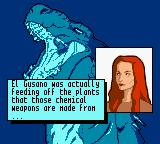 Godzilla: The Series - Monster Wars Game Boy Color El Gusano. That's right.