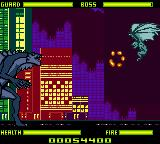 Godzilla: The Series - Monster Wars Game Boy Color Fourth boss.