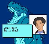 Godzilla: The Series - Monster Wars Game Boy Color Sacre Blue! Who is that?
