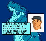 Godzilla: The Series - Monster Wars Game Boy Color ...happens again. We need someone to LEAD the team.