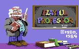 Playful Professor: Math Tutor Commodore 64 Title screen