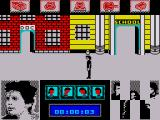 Back to the Future ZX Spectrum You begin the game outside Doc Brown's house