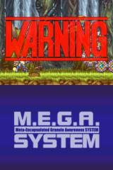 Mega Man ZX Nintendo DS When huge, red warning signs appear, you'd better pay heed.