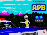 APB ZX Spectrum Loading Screen