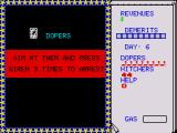 APB ZX Spectrum Dopers drive around dangerously and need to be arrested quickly