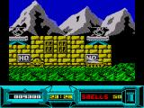 Battle Valley ZX Spectrum You begin the mission outside your HQ