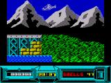 Battle Valley ZX Spectrum You can also fly a helicopter around