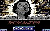 Highlander Commodore 64 Loading Screen