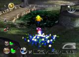 Pikmin 2 GameCube Blue Pikmin are useful in water-filled areas.