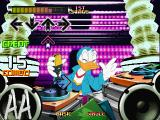 Dance Dance Revolution: Disney Mix PlayStation A Donald Duck stage.