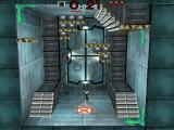 Blast Chamber DOS About to exit the level.
