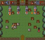 Goof Troop SNES Level 2. Solving the puzzle under fireball fire