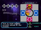 Dance Dance Revolution: Disney Mix PlayStation Lesson mode: This mode teaches you how to dance.
