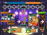 Dance Dance Revolution: Disney Mix PlayStation This game features the dance magic mode, this mode is a head-to-head battle with power-ups against the CPU or a player.