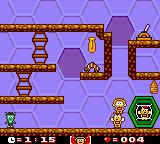 Maya the Bee & Her Friends Game Boy Color Almost finishing.