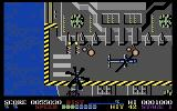 ThunderBlade Commodore 64 This enemy aircraft carrier is well guarded!