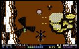 ThunderBlade Commodore 64 Destroying enemy choppers