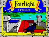 Fairlight ZX Spectrum Title screen