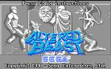 Altered Beast DOS Title