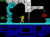 Rad Warrior ZX Spectrum Throwing s stone to the monster. That sort of magnetic field represents something...