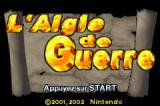 Napoleon Game Boy Advance Title screen (French version).