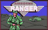Airborne Ranger Commodore 64 Title screen
