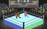 Championship Wrestling Commodore 64 In the ring