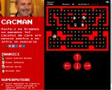Cacman Browser Early in a level.
