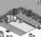 Die Maus Game Boy Don't do that. Unless you are tired of life. (NOTE: Used a special code to access different levels.)