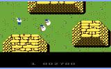 Ikari Warriors II: Victory Road Commodore 64 Make your way around some obstacles...