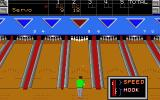 10th Frame Atari ST Getting ready to bowl...