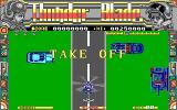 ThunderBlade DOS Get ready for the first level (EGA/Tandy)