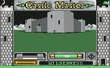 Castle Master Commodore 64 The beginning, outside castle
