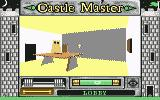 Castle Master Commodore 64 Lobby, ghost ahead