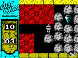 Lost Caves ZX Spectrum Finding a diamond