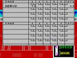 10th Frame ZX Spectrum The scoresheet