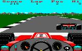 3D Grand Prix Amstrad CPC Sixth course: Brands Hatch