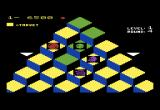 Q*bert VIC-20 Catch the green ball and all enemies are temporarily frozen