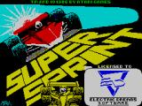 Super Sprint ZX Spectrum Title screen