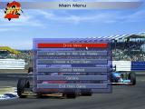 Grand Prix II DOS Main Menu