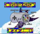 Tommy Moe's Winter Extreme: Skiing & Snowboarding SNES Control Pad (JP).