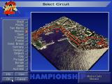 Grand Prix II DOS Select your circuit!