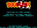 Speed Buggy ZX Spectrum Credits