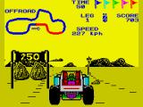 "Speed Buggy ZX Spectrum ""Offroad"" track"