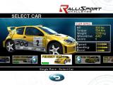 RalliSport Challenge Windows Lots of cars to choose from
