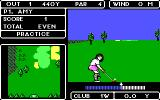 Lee Trevino's Fighting Golf DOS Start Hole 1 (EGA)