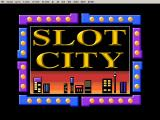 Slot City Windows 3.x The title screen.