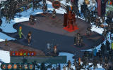 The Banner Saga Windows The showdown with Bellower.