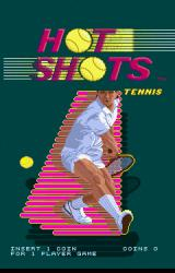 Hot Shots Tennis Arcade Title screen